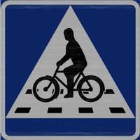 B8 - Cykelöverfart. Bild: Transportstyrelsen.
